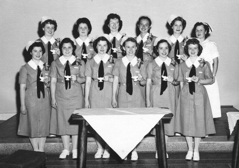 Broadlawns School of Nursing graduates, class of 1949